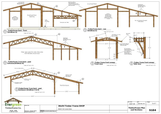 Timber frame primary structure